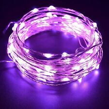 2M 20LED 3 AA Cells Battery Powered Silver Copper Wire Fairy String Lights Xmas