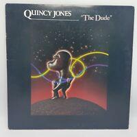Quincy Jones The Dude 1981 A&M 13721 R&B Funk Jazz 33rpm Vinyl LP VG+