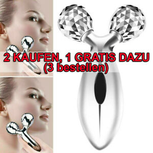 3D Roller Gesichtsmassagegerät Energie Beauty Bar Face-Lifting Anti-Aging Hot!
