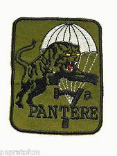 Patch Toppa Militare Folgore 7 Cp. Pantere Paracadutisti Verde Old con velcro