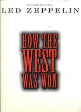"LED ZEPPELIN ""HOW THE WEST WAS WON"" PIANO/VOCAL/GUITAR CHORDS MUSIC BOOK NEW!!"