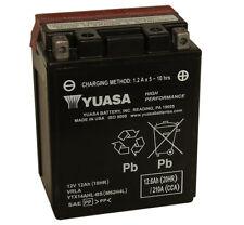 ORIGINAL YUASA ytx14ahl-bs moto Kit de batería Inc Relleno