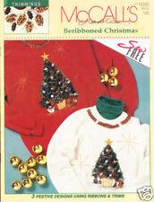 Craft Books: #1437 McCall's Beribboned Christmas Shirts
