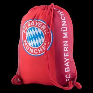 Bayern Munich München Gym Sack Bag Bundesliga Fussball Soccer UEFA CL