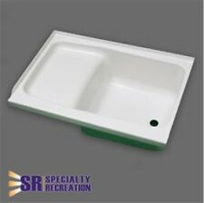 "Specialty Recreation ST2440WR RV Step Tub 24"" x 40"" Right Hand Drain White ABS"