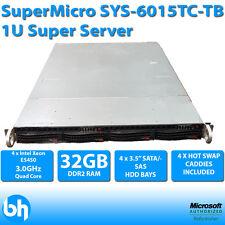 SuperMicro SYS-6015TC-TB 1U 2 Node SuperServer 4 x E5450 XEON QUAD CORE 32GB RAM