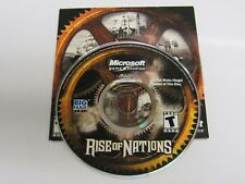 Rise Of Nations 2003 PC CD-ROM Microsoft X09-23436 with Product Key