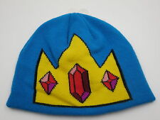 Adventure Time King Blue Adult Beanie Ski Cap Cosplay Winter Hat CLEARANCE SALE