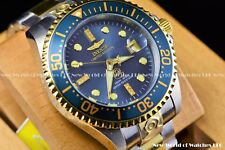 Invicta Men 47mm Grand Diver Diamond Limited Ed Charcoal Dial Automatic TT Watch