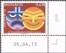 Monaco 2013 théâtre amateur Festival/Masques/Action/acteurs/DRAME 1 V (mc1147)