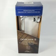 Gatco Designer II Standard Tissue Holder Chrome Finish 5072 New Sealed