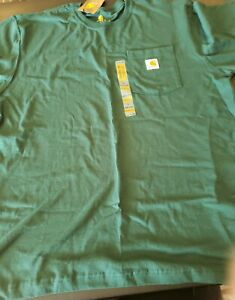 Carhartt Green Size L Short Sleevr Shirt