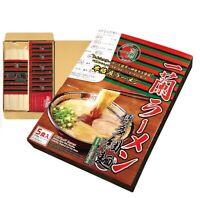 ICHIRAN Ramen, Hakata-style, Thin Noodles w/ Spicy Red Sauce, (5Meals/1 Box)