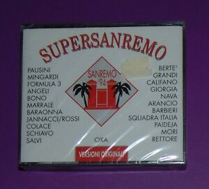 SUPERSANREMO 94. BOX 2 CD 1^ EDIZIONE FESTIVAL DI SANREMO SIGILLATO !