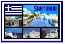 Santorini, GRECIA - Negozio di souvenir novità Magnete del frigorifero - Viste -