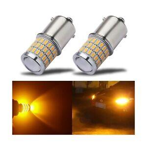 iBrightstar Newest 9-30V Super Bright Low Power 1156 1141 1003 BA15S LED Bulb...