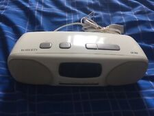 Vintage ROBERTS CR960 Dual Alarm CLOCK RADIO Fully Working used Lovely Condition