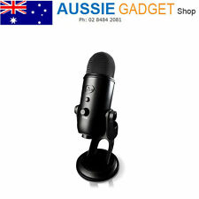 Blue Yeti USB Multi-Pattern Condenser Microphone - Blackout