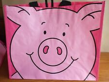 Marks & Spencer: PERCY PIG, Large Reusable Antiracial Shopping Bag – NEW