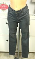 ESPRIT Jeansröhre Jeans Hose Röhre Slim Skinny Grau Gr. W36 S L32 (D70)