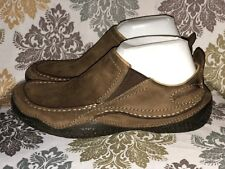 Pantagonia Men's Cardon Brown Leather Casual Loafers Shoes Size 7 / 40