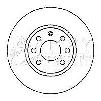 VAUXHALL MERIVA A 1.4 2x Brake Discs (Pair) Vented Front 04 to 10 Z14XEP 260mm