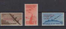 SAN MARINO, REPUBBLICA DI SAN MARINO, STAMPS, 1946, SASSONE 298 - 300 **