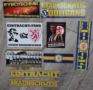 Aufkleber Sticker Ultras Eintracht Braunschweig # Magdeburg FCM Waldhof Mannheim