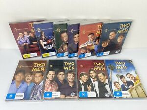 Two and a Half Men DVD's Complete Seasons 1-10 Region 4 Sitcom - FREE POSTAGE!