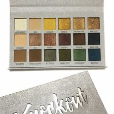 Prolux Knockout Eyeshadow Palette Metallic Colors Cruelty Free