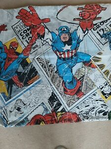 Marvel single duvet set and curtains