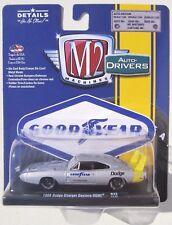 M2 MACHINES AUTO-DRIVERS R45 1969 DODGE CHARGER DAYTONA HEMI GOODYEAR TIRES