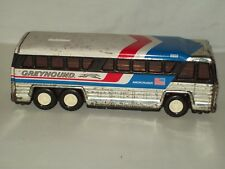 VINTAGE ~ 1979 BUDDY L ~ GREYHOUND BUS ~ 4950  ~ AMERICRUISER PRESSED STEEL
