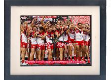 Sydney Swans 2012 AFL Grand Final. High quality framed print and clock