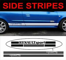 renault sport side stripes fit renault megane clio decals stickers graphics