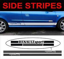 RENAULT SPORT Rayures sur les côtés coupe renault megane clio decals stickers Graphics
