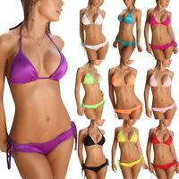 Womens Padded Push-up Bra Bikini Set Swimsuit Bathing Suit Swimwear Beachwear CA