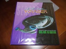 STAR TREK VOYAGER SEASON 1 SERIES 2 MASTER SET IN BINDER MINT