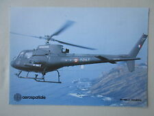 DOCUMENT PUBLICITAIRE AEROSPATIALE AS 350 L 1 ECUREUIL ARMEE DE L'AIR