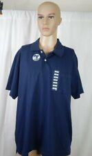 NWT NEW Men's Sun River Size XL Golf Polo Shirt Blue Casual Work Clothes
