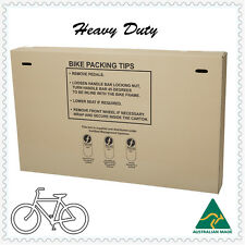 Bicycle Bike Box Moving Cartons Protects Most Adults & Kids Bikes- Heavy Duty