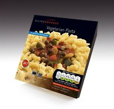 Bistro Express Vegetarian Pasta Long Life, Ambient, Halal, 6 Pack Ready Meal's