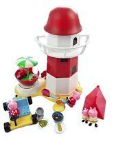 Peppa Pig Lighthouse Tent Go-Kart Figures Toys