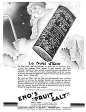 SEL ENO PERE NOEL MONTRES OMEGA POUR FEMMES PUBLICITE 1930
