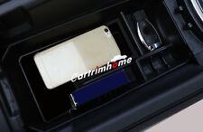 Black Interior Armrest Storage Box Holder For Mercedes Benz GLC Class X205 15-16