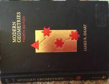 Modern Geometries, Fourth Edition, by James R. Smart (1994, Hardback)