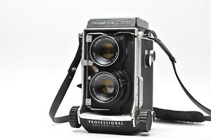 [EXC Mamiya C220 Pro 6x6 TLR Film Camera w/ Sekor 80mm f/3.7 from JAPAN