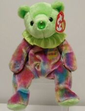 AUGUST Birthday Bear - TY Beanie Baby Birthstone Collection - Mint Condition