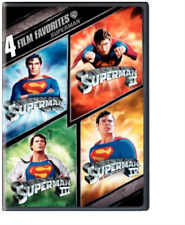 4 Film Favorite Superman 0883929035410 With Christopher Reeve DVD Region 1