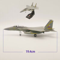 1/100 Scale USA 1985 Mcdonnell Douglas F-15A Diecast Airplane Model Alloy Fighte